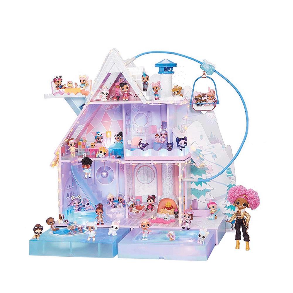 LOL Surprise Chalet Winter Disco, Дом ЛОЛ Зимнее Шале + 95 сюрпризов - 6