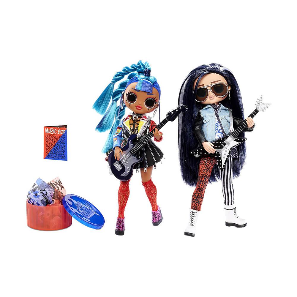 Кукла LOL Surprise ОMG 2-Pack Remix - Набор кукол ОМГ Ремикс - 2